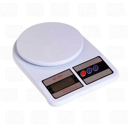 Bascula digital capacidad 7 kg Blanca