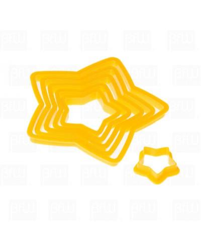 Cortador plastico Estrella 6 piezas