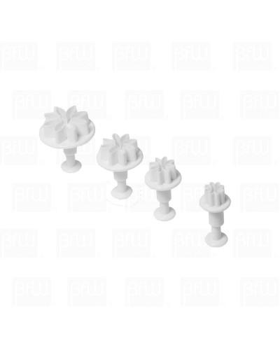 Cortador plastico margarita 4 piezas