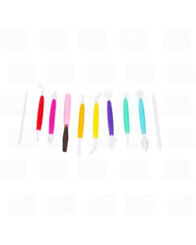 Juego de herramientas 10 piezas plastico