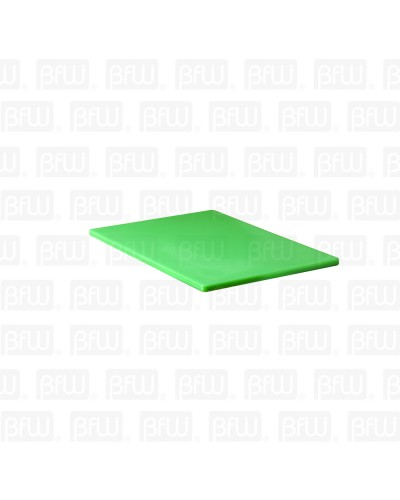 TABLA DE CORTE ALTA DENSIDAD 12X18X1/2PG VERDE BUFFETWARE